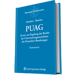 PUAG - Kommentar