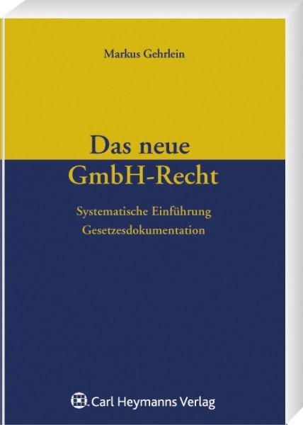 Das neue GmbH-Recht