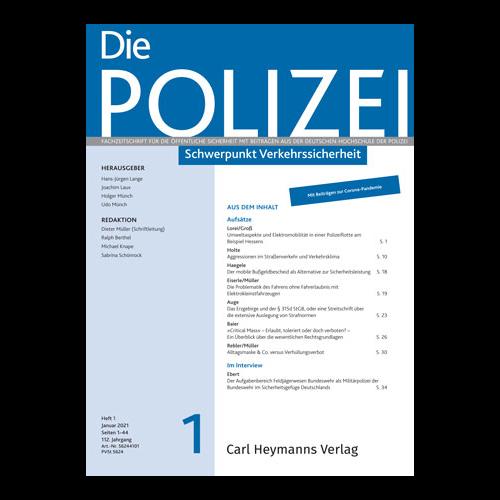 Die Polizei - Heft 1|2021