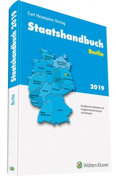 Staatshandbuch Berlin 2019