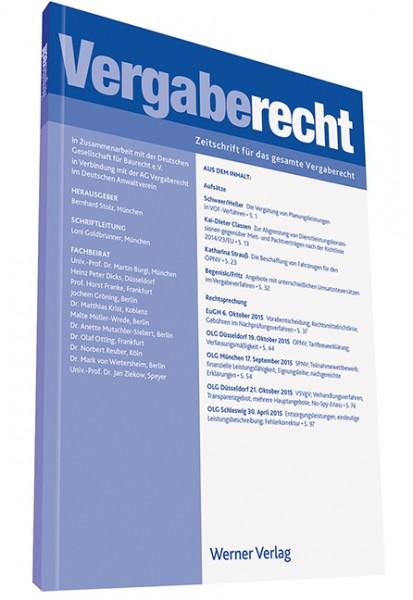 VergabeR - Vergaberecht (Probeabonnement - 2 Hefte)