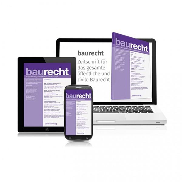 BauR - Baurecht (Probeabonnement - 2 Hefte)