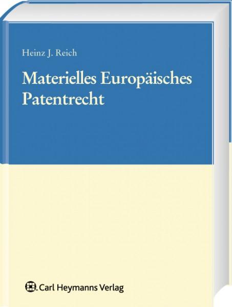 Materielles Europäisches Patentrecht