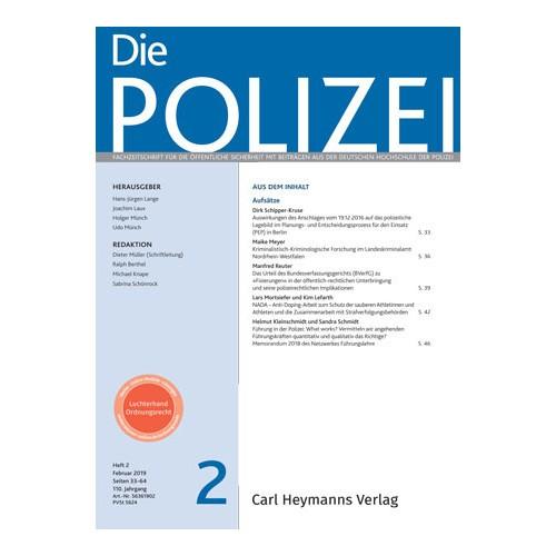 Die Polizei - Heft 2 2019