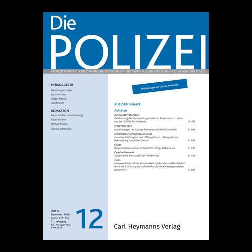 Die Polizei - Heft 12|2020