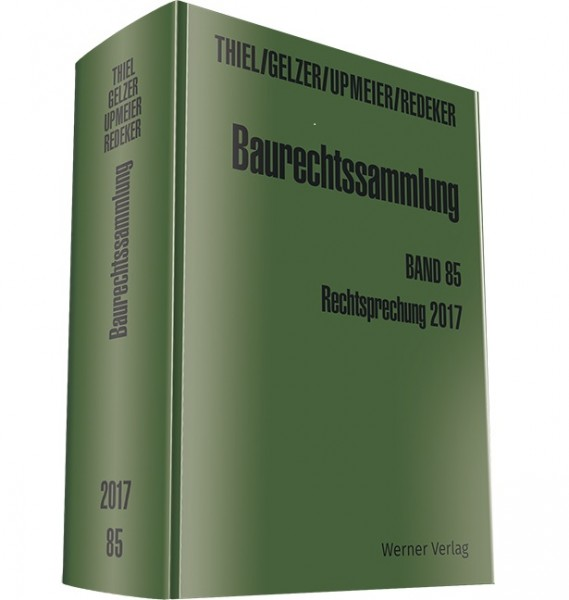 Baurechtssammlung - elektronisches Download-Archiv- Sonderpreis