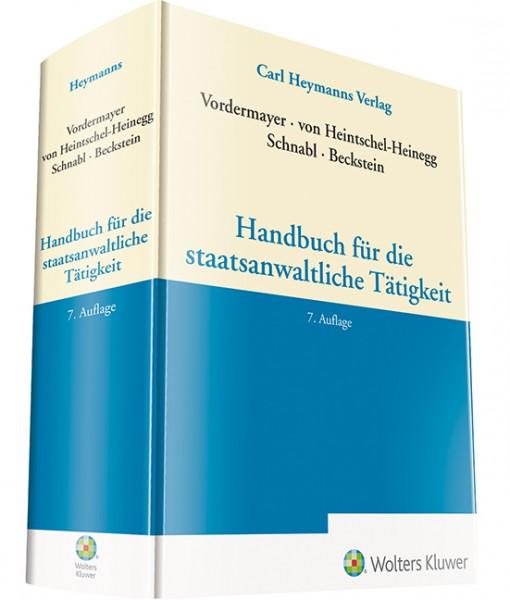 Handbuch für die staatsanwaltliche Tätigkeit