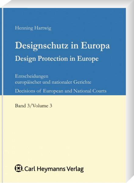 Designschutz in Europa, Band 3