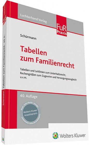 Tabellen zum Familienrecht