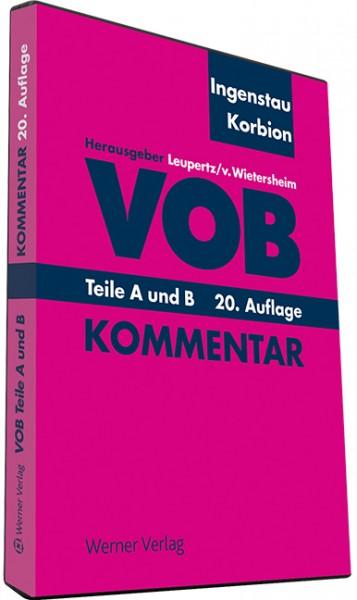 VOB Teile A und B auf DVD