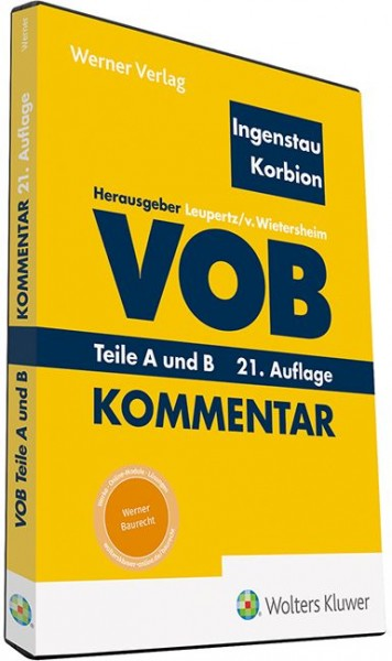 Ingenstau / Korbion, VOB Teile A und B - Kommentar (DVD)