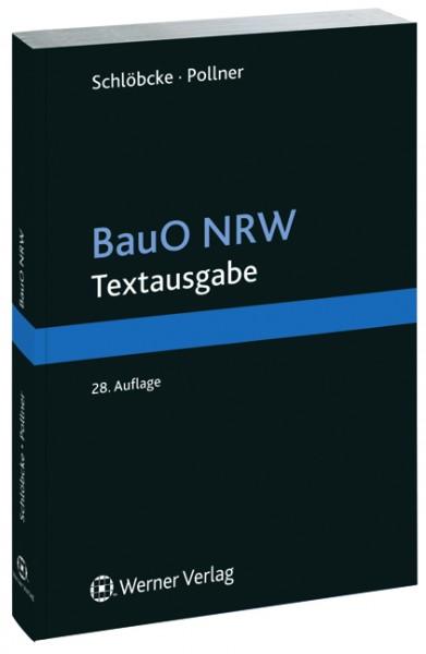 BauO NRW Textausgabe