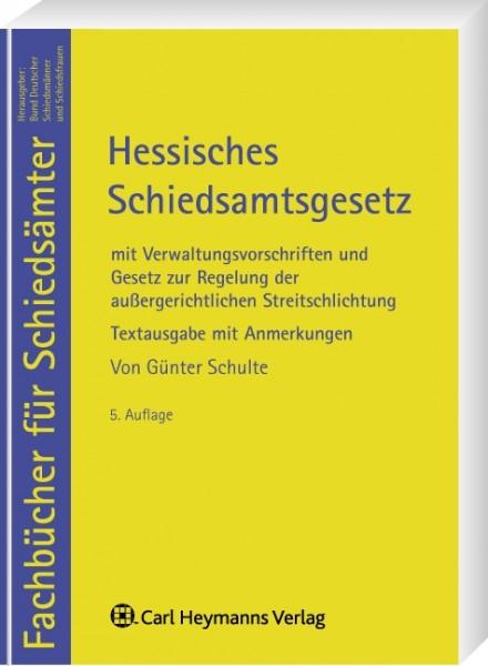 Hessisches Schiedsamtsgesetz