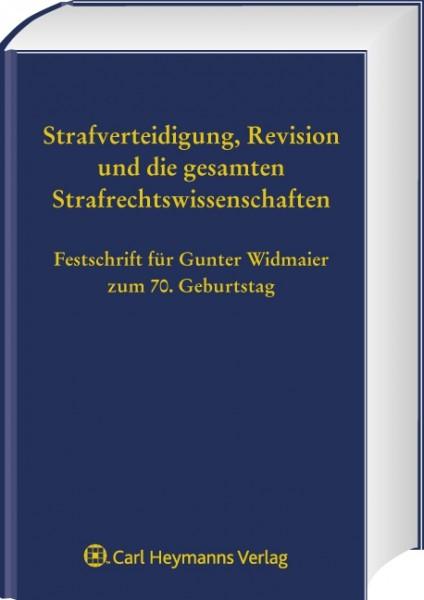 Festschrift für Gunter Widmaier zum 70. Geburtstag