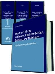 Staat und Kirche in Hessen, Rheinland-Pfalz, Saarland und Thüringen