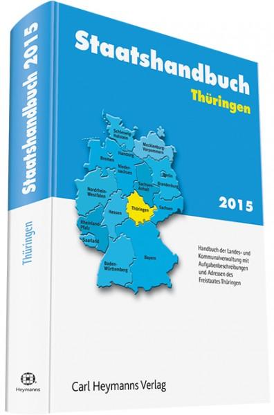 Staatshandbuch Thüringen 2015