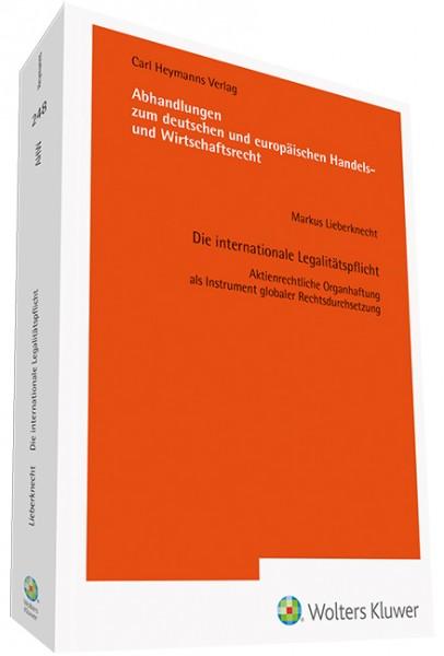 Die internationale Legalitätspflicht (AHW 248)