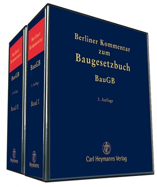 berliner kommentar zum baugesetzbuch baugb  auflage