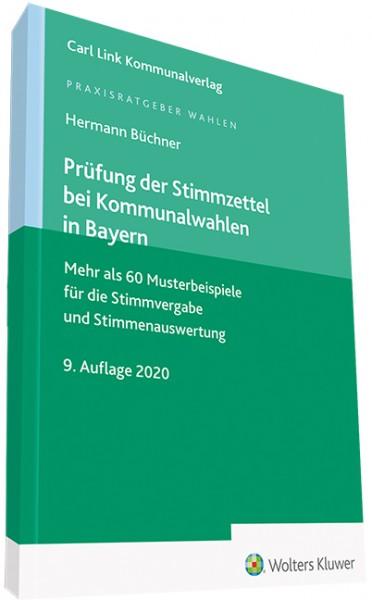 Prüfung der Stimmzettel bei Kommunalwahlen in Bayern
