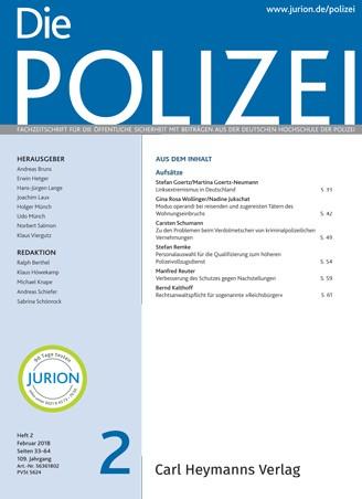 Die Polizei - Heft 2|2018