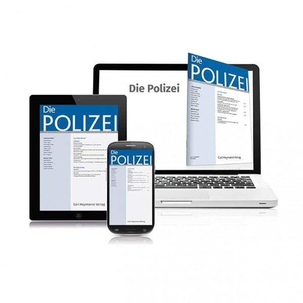 Die Polizei (Probeabonnement - 2 Hefte)