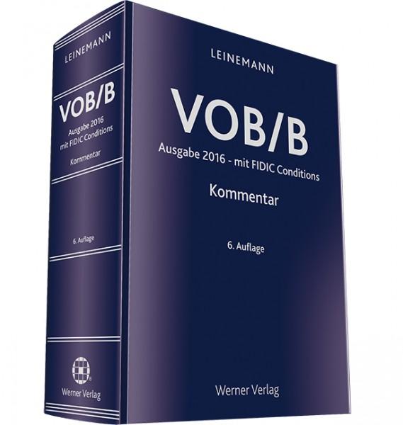 VOB / B Kommentar - Schmuckausgabe mit Ledereinband