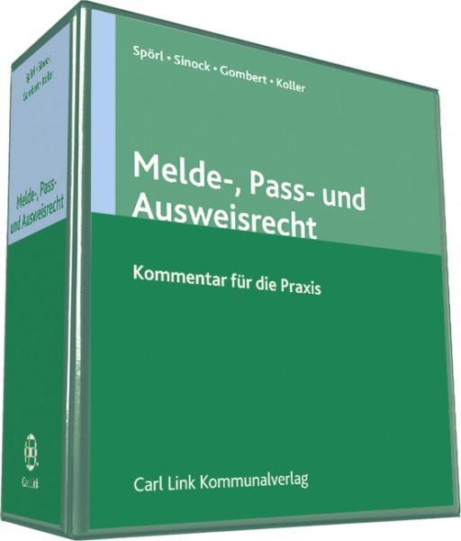 Melde-, Pass- und Ausweisrecht - Kommentar