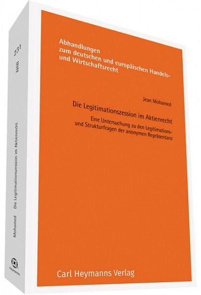 Die Legitimationszession im Aktienrecht (AHW 231)