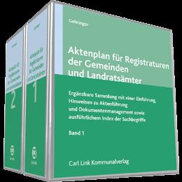 Aktenplan für Registraturen der Gemeinden und Landratsämter