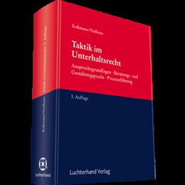 Taktik im Unterhaltsrecht