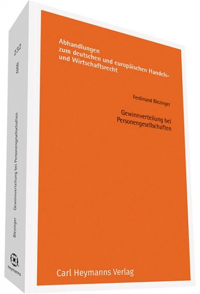 Gewinnverteilung bei Personengesellschaften (AHW 232)