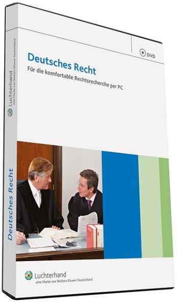 Deutsches Recht Sachsen DVD