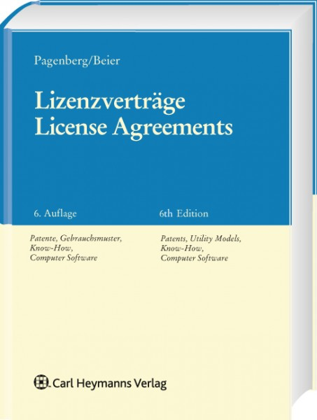 Lizenzverträge / License Agreements
