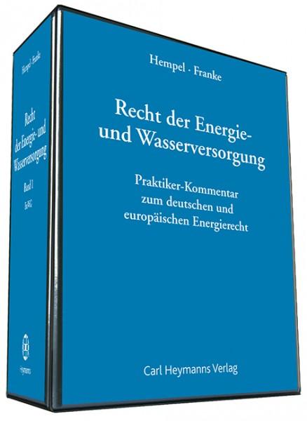 Recht der Energie- und Wasserversorgung - Kommentar