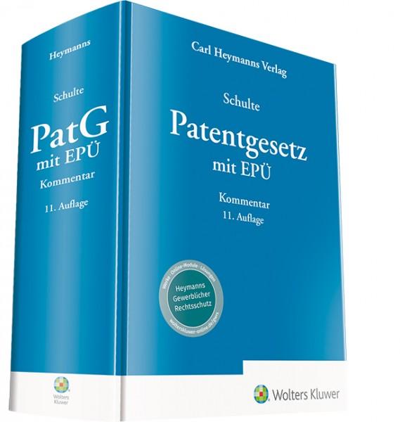 Patentgesetz mit EPÜ - Kommentar