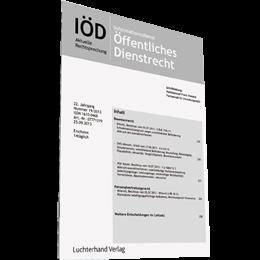 IÖD - Informationsdienst Öffentliches Dienstrecht