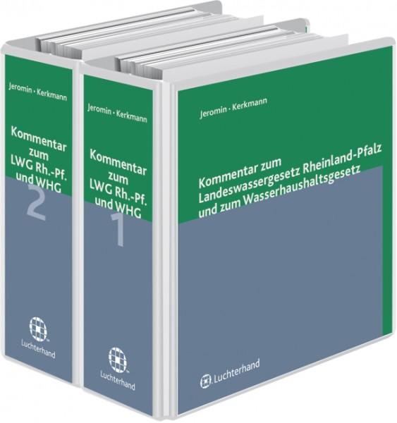 Kommentar zum Landeswassergesetz Rheinland-Pfalz und zum Wasserhaushaltsgesetz