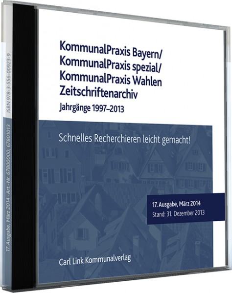 KommunalPraxis Bayern/ KommunalPraxis spezial/ KommunalPraxis Wahlen Zeitschriftenarchiv