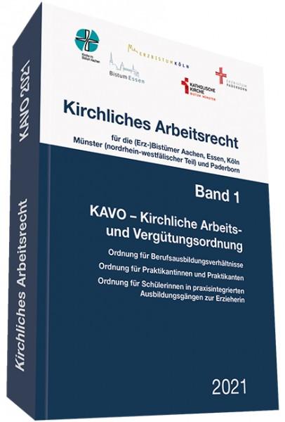Kirchliches Arbeitsrecht, Band 1 - KAVO