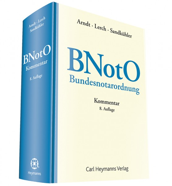 Arndt, BNotO