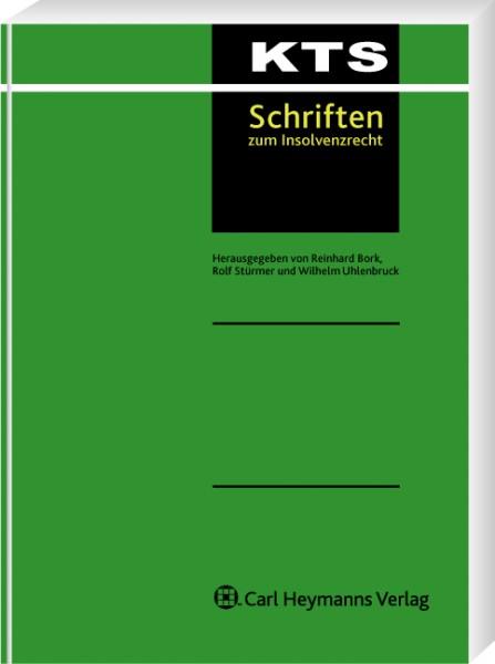 Eingriffe in die Rechte von Anteilseignern im Insolvenzverfahren (KTS 41)
