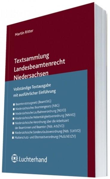 Textsammlung Landesbeamtenrecht Niedersachsen