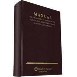 Manual for the Handling of Applications for Patents, Designs and Trade Marks Throughout the World