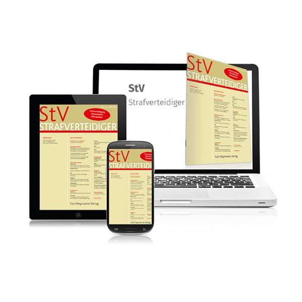 StV - Strafverteidiger - Heft 4|2020