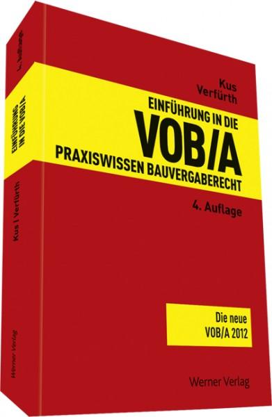 Einführung in die VOB / A