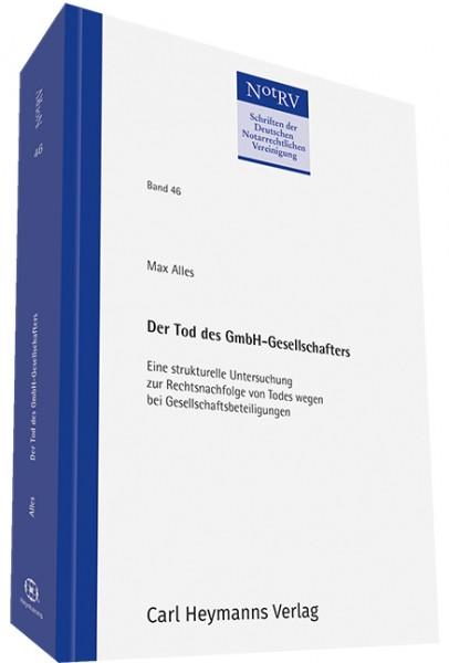 Der Tod des GmbH-Gesellschafters