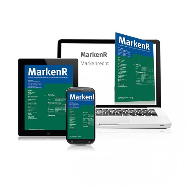 MarkenR - Markenrecht - Heft 10|2019