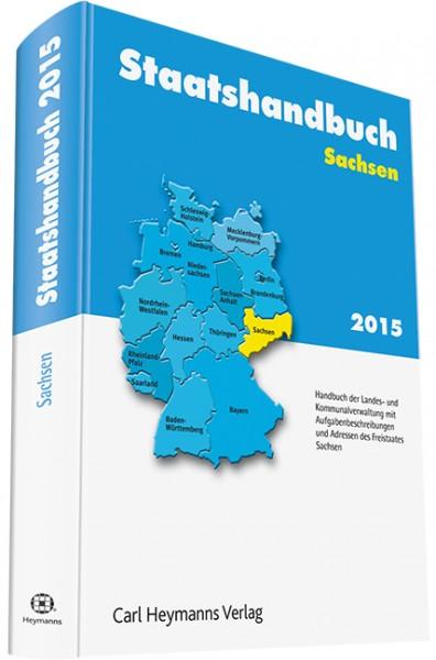 Staatshandbuch Sachsen 2015