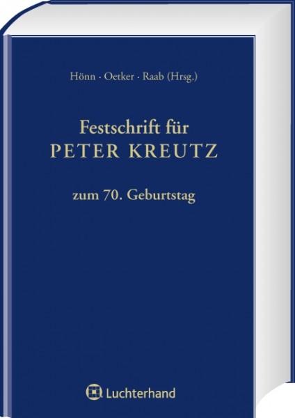 Festschrift für Peter Kreutz