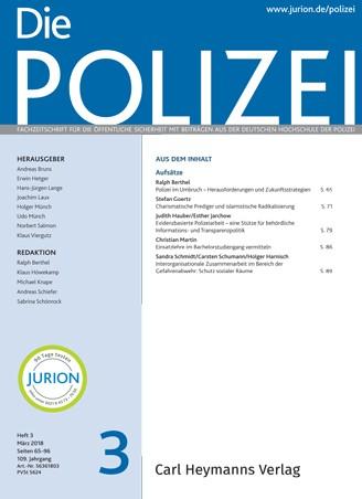 Die Polizei - Heft 3|2018